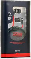 Наушники с микрофоном ERGO ES-900 Black