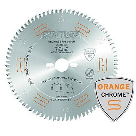 CMT 303x30x3,2x60 пильний диск для формато-раскроечного верстата без підрізного вузла,швидкий різ, фото 2