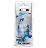 Наушники Panasonic RP-HJE118GU-A Blue
