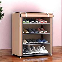 Шкаф тканевый для одежды и обуви 4 полки