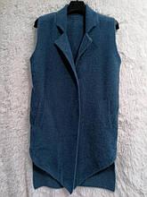 Жилетка женская модная демисезонная размер универсальный 48-52, купить оптом со склада 7км Одесса