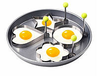 Форма для жарки яиц в виде сердца 1 шт