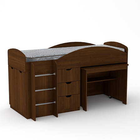 Кровать Чердак Универсал Односпальная Компанит, фото 2