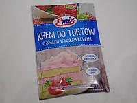 Крем для тортов клубничный Emix 100 г