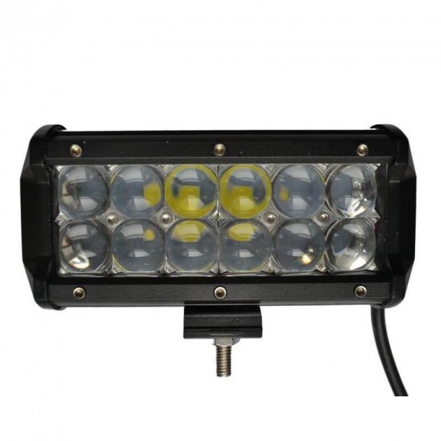 Светодиодная автофара балка LED на крышу (12 LED) 5D-36W-SPOT