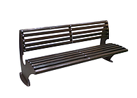 "Парковая скамейка ""Парк Вуд"" 1820х685хН800 мм из тонированного натурального дерева"