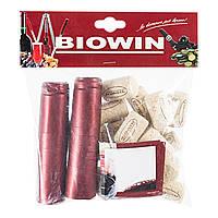 Набір: корки, етикетки, термоусадні ковпаки