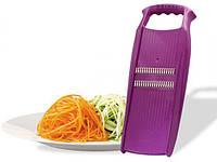 Терка для корейской моркови Роко Прима Borner Оригинал 100% сиреневая