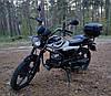 Мотоцикл Forte ALFA NEW FT125-K9A Черный, фото 6