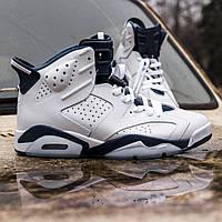Кроссовки Nike Air Jordan 6 (ТОП РЕПЛИКА ААА+), фото 1