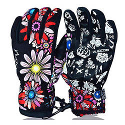 Женские лыжные перчатки