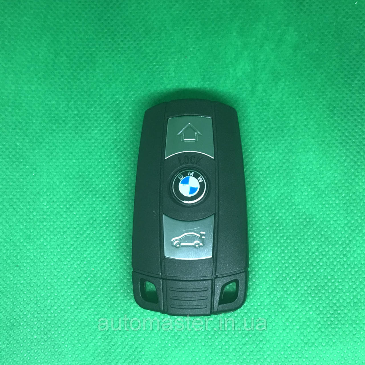 Смарт ключ BMW (БМВ) 3 кнопки, keyless go (CAS3, CAS3+), 315 MHz, ID 46 Лезвие HU92 BMW 6986583-05