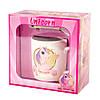 """Подарунковий набір чашка з ложечкою """"Unicorn"""" (200 мл)"""