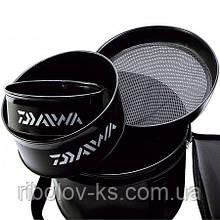 Набор ведер для замеса прикормки Daiwa Aqua Dry Groundbait System Б/У