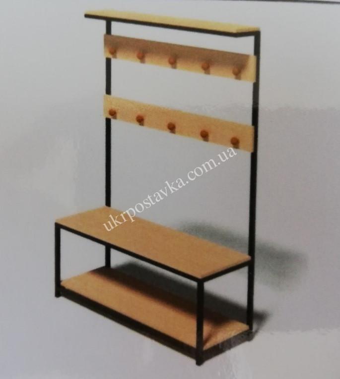 "Вешалка для одежды и обуви LOFT ЛОФТ ""Стандарт"" 400х800х1800 мм"