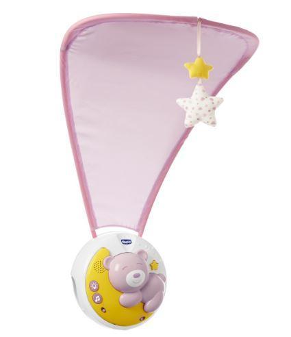 """Іграшка на ліжечко 3 в1 """"Next2Moon"""" (рожевий) Chicco"""