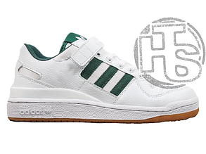 Мужские кроссовки Adidas Originals Forum Low Green/White-Gum AQ1261