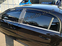 Дефлекторы окон (ветровики) Opel Vectra С 2002-2008 (HIC), фото 1