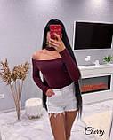 Жіноча весняна кофта чорний, червоний, бордо, фото 6