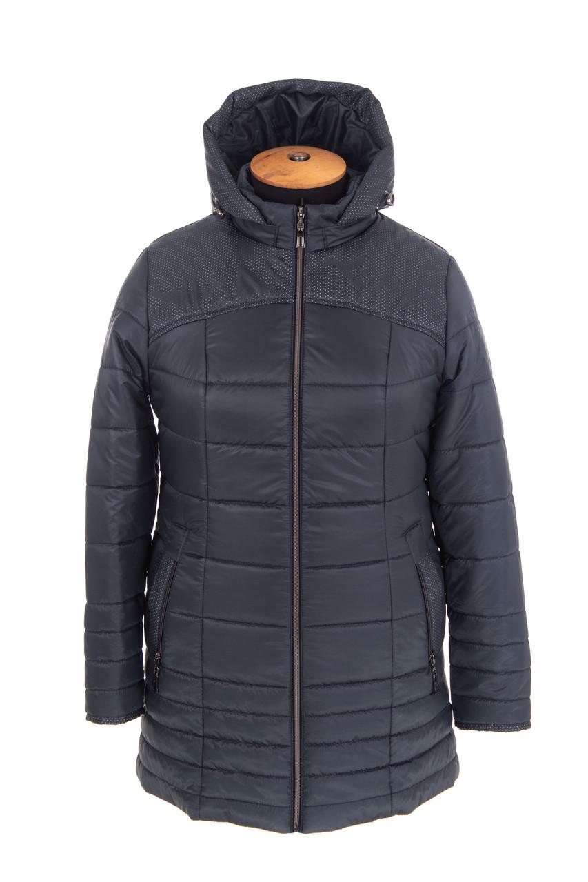 Куртка женская осень-весна большого размера  54-64  волна