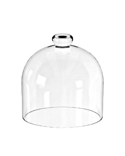 Колпак стеклянный CANDY BAR, d 18 см, h 21 см Mazhura mzS100