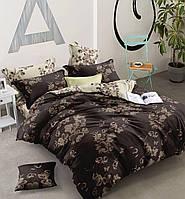 Двуспальный комплект постельного белья евро 200*220 хлопок  (13521) TM KRISPOL Украина