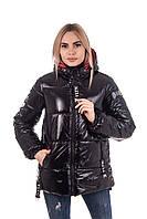 Женская весенняя куртка молодежная   42-50 черный