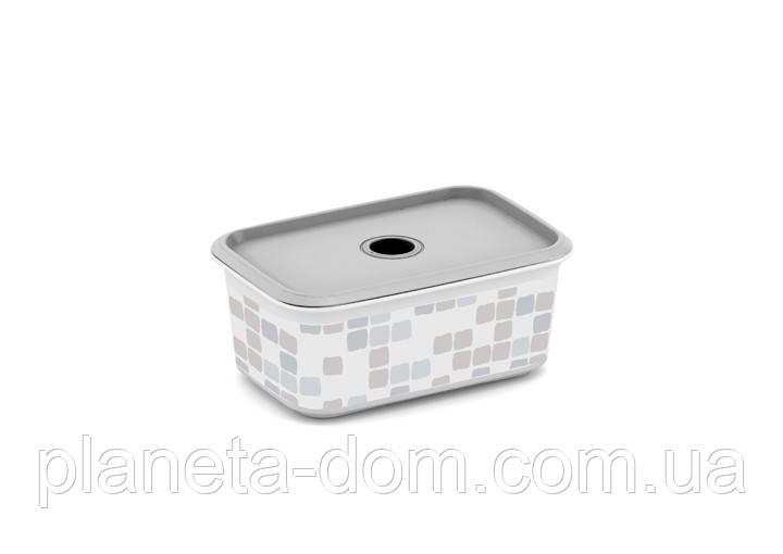 """Контейнер для хранения  KIS """"Chic Box Style Plus XS"""" (19х13х8 см) Мозаика."""