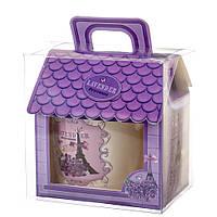 """Чашка в подарунковій упаковці-будиночку """"Lavender Provence"""" (380 мл), фото 1"""