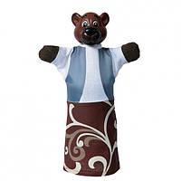 """Кукольный театр """"Медведь"""" (пластизоль, ткань), в кор. 19*9*8см"""