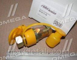 """Венгрия Головка соед. Евро STANDARD М22х1,5  желтая """"Rider"""""""