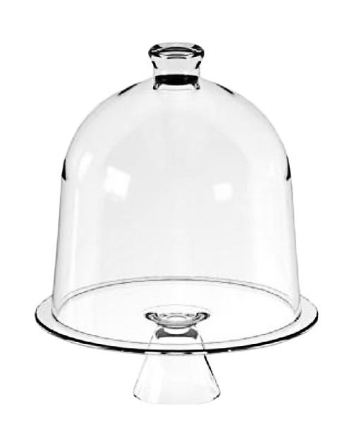 Тортовница стеклянная CANDY BAR, d 30 см, h 38 см Mazhura mzV026
