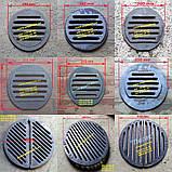 Решетка чугунная круглая титан буржуйка, тандыр, печи, мангал, 350 мм колосник, фото 2
