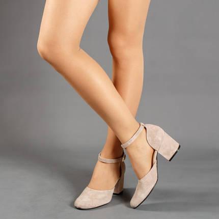 """Туфлі жіночі шкіряні з принтом """"рептилія"""" розміри 33-41, фото 2"""