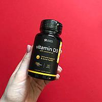 Sports Research, Витамин D3 с кокосовым маслом, 125 мкг (5000 МЕ), 30 мягких таблеток