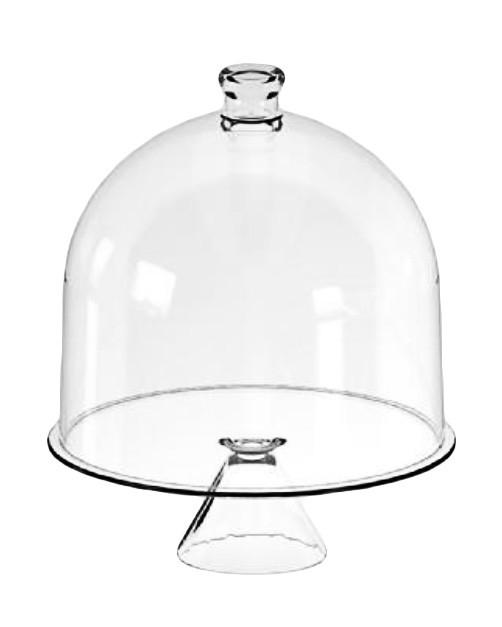 Тортовница стеклянная CANDY BAR, d 34 см, h 41 см Mazhura mzV039