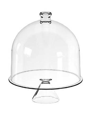 Тортовница стеклянная CANDY BAR, d 34 см, h 41 см Mazhura mzV039, фото 2
