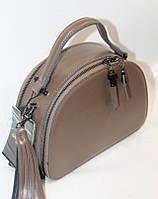Женская кожаная сумка на плечо 12033В Khaki кожаные сумки, кожаные клатчи оптом Одесса