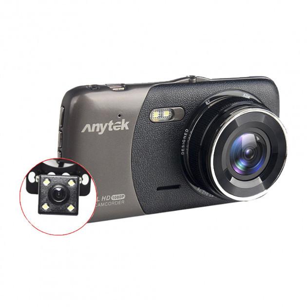Автомобильный видеорегистратор Anytek B50H с камерой заднего вида