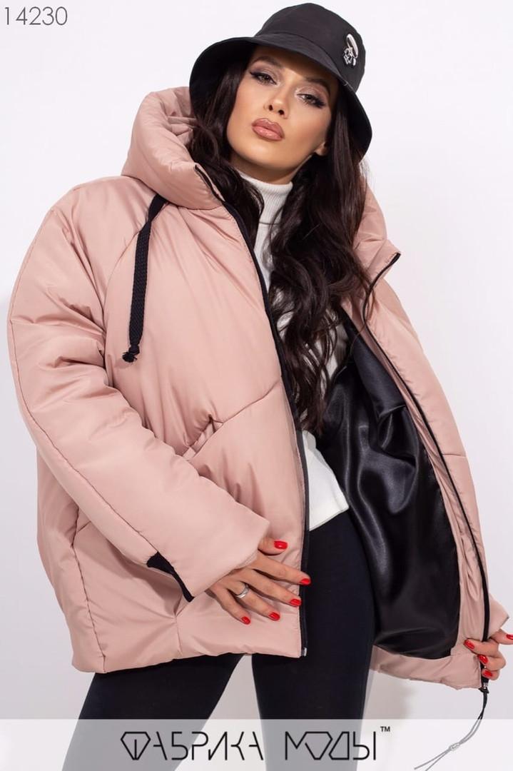 Куртка женская / плащевка, силикон 250 / Украина 9-678