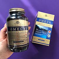 Solgar, Омега Full Spectrum, жир дикого аляскинского лосося, 120мягких таблеток