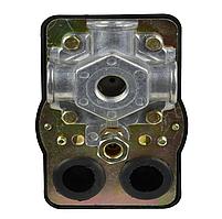"""Реле давления для компрессора (3 выхода) 1/4"""" GEKO G80322"""