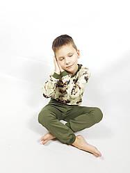 """Пижама детская """"Машинки"""" штаны+кофточка 116 рост (P202)"""