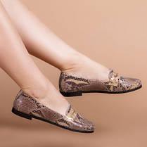 Туфлі жіночі Пітон натуральна шкіра Розміри 36-41, фото 3