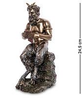 Статуэтка Пан (бог пастушества и скотоводства), играющий на флейте Veronese WS-1015
