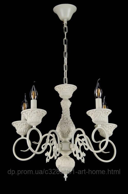 Люстра свеча L29199B/5 (GWT)