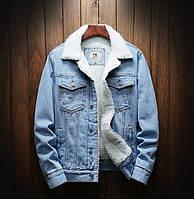 Мужская джинсовая курточка с мехом ХИТ весны Распродажа