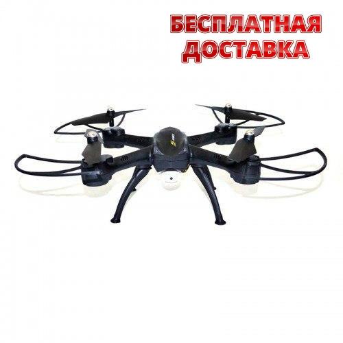 Квадрокоптер радиоуправляемый D11 с WiFi и HD камерой. Дрон на радиоуправлении D11.