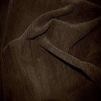 Вельвет темно - корчневый 155*130 см