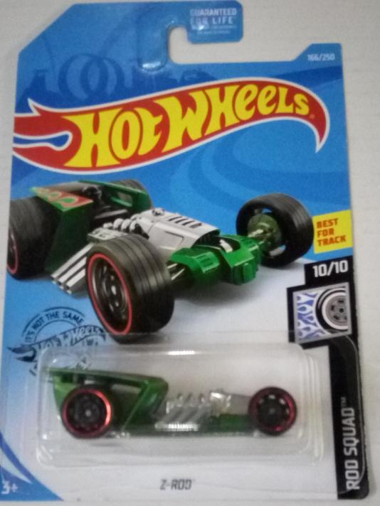 Машинка Hot Wheels 2019 Z-Rod